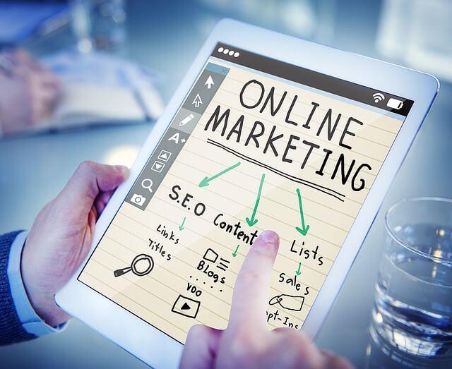 Online Marketing Remote digital nomad jobs