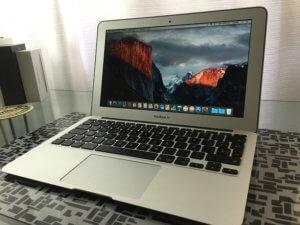Macbook air is the best travel laptop