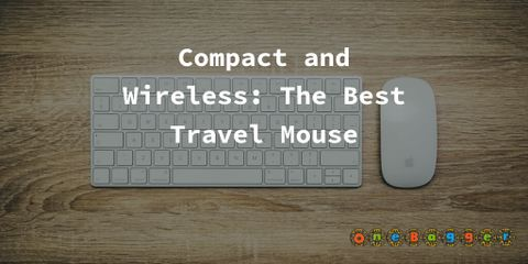 Compact and Wireless: The Best Travel Mouse