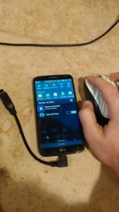 Using a bluetooth mouse with an Android Phone