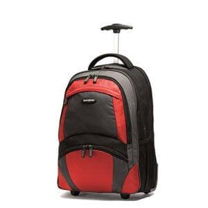 Samsonite Wheeled Backpack is good for travel