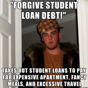 using student loan to travel is bad Idea