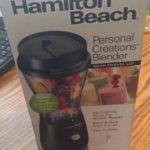 Unpacking Hamilton Beach Personal Blender