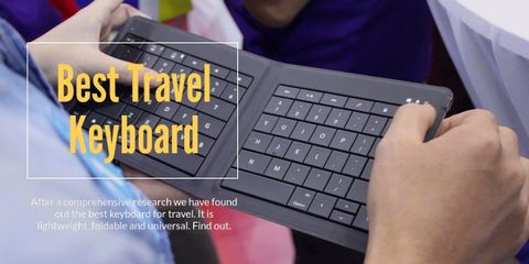 The Best Keyboard for Travel (Lightweight, Foldable and Universal)