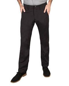 man wearing betabrand travel pants