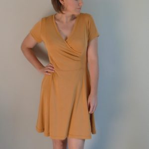 woman wearing modal outfit
