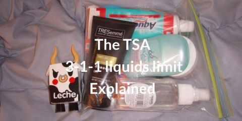 Trouble Free Flying - the TSA 3-1-1 Liquids Limit Explained