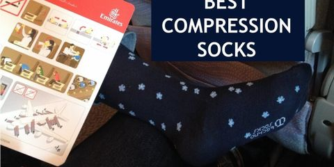 The Best Compression Socks for Air Travel