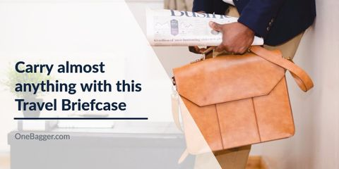 Carry Anything and Travel With Style With the Best Travel Briefcase