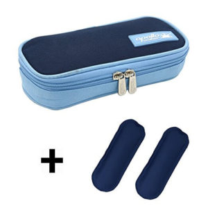 Goldwheat Portable Insulin Cooler Bag Diabetic Organizer Medical Travel Cooler Pack