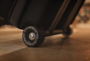 roller skates wheels on timbuk2 copilot roller luggage