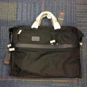 Black Tumi Alpha 2 Briefcase for Travel