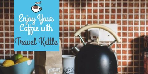 Make Your Own Coffee Anywhere With a Collapsible Travel Kettle