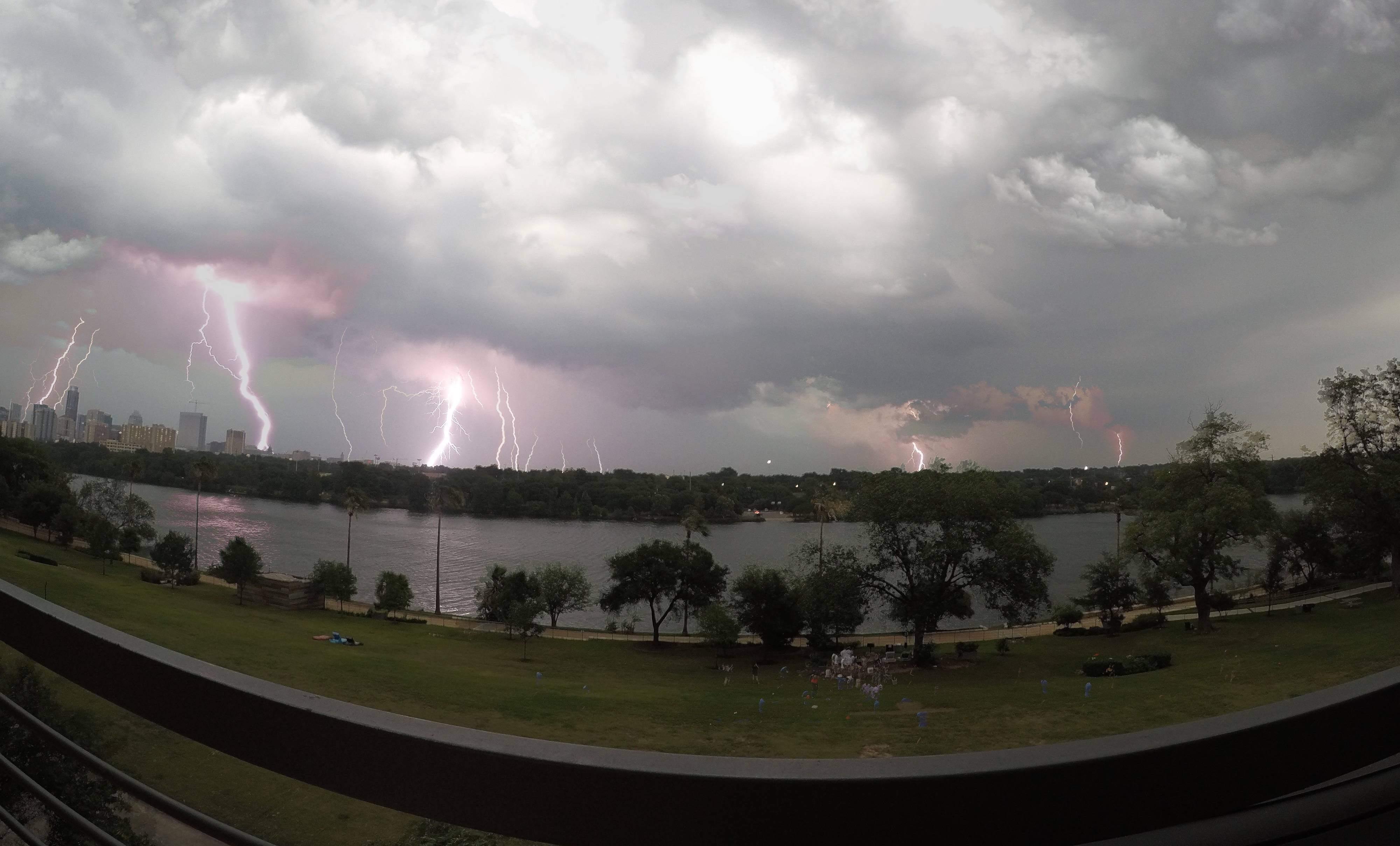 gopro time lapse lightening