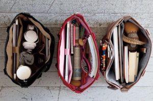 all purpose tote bag interior