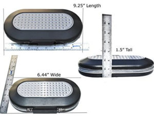 Master Lock Personal Safe size chart