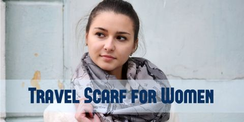 Add a Final Touch to Your Outfit With a Infinity Travel Scarf