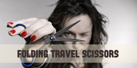 Be Prepared for Everything With Travel Scissors