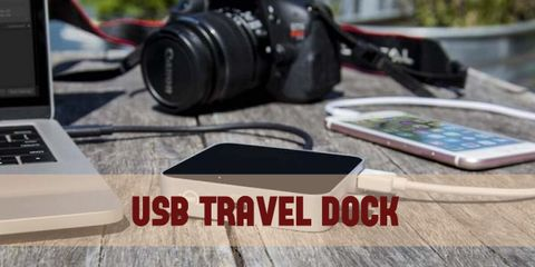 Connect Your Devices Anywhere in the World With a Travel Dock