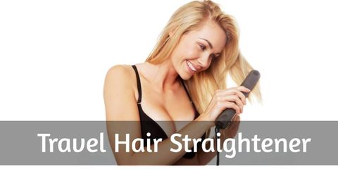Make Your Hair Pretty With Travel Hair Straightener
