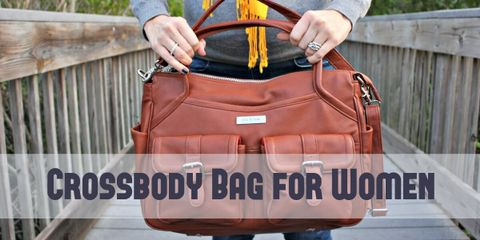 These Crossbody bags for women have enough space for your belongings, yet is easy to carry and doesn't take up much space.