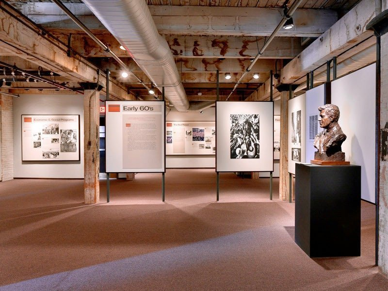 The sixth-floor museum at Dealey Plaza