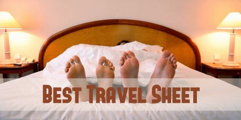 Have a Good Night's Sleep With a Travel Sheet
